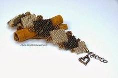 In your free time ...: Bracelet Cubic RAW