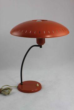 Original Philips Lampe - Tischlampe - Louis Christiaan Kalff