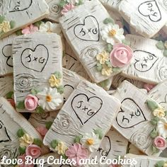 Love Bug Cakes and Cookies