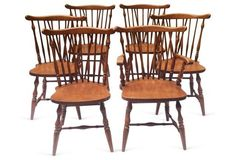 Windsor Chairs, Set of  6