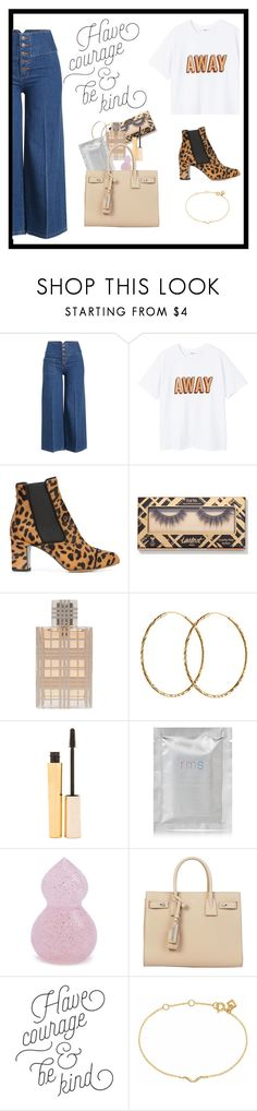 """IMPERFECTIONS #34"" by nefelibata080 ❤ liked on Polyvore featuring Marc Jacobs, MANGO, Tabitha Simmons, Burberry, Pernille Corydon, Stila, rms beauty, Forever 21, Yves Saint Laurent and Maya Magal"