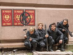 'The Hunger Games: Mockingjay - Part 2': 8 EW exclusive photos | Josh Hutcherson, Sam Claflin, Wes Chatham, and Evan Ross | EW.com