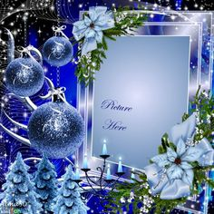 Cooking With JL Artesanato. Check Out These Simple Cooking Tips! Christmas Crafts For Gifts, All Things Christmas, Winter Christmas, Christmas Decorations, Christmas Picture Frames, Christmas Background, Christmas Pictures, Happy Birthday Frame, Birthday Frames