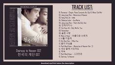 Stairway to Heaven OST collection   천국의 계단 OST Stairway To Heaven, Jung Woo, Korean Drama, Relationship, Asian, Memories, Songs, Music, Youtube