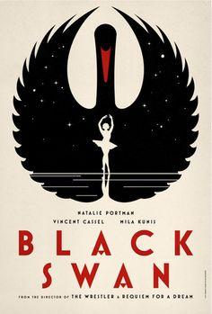 Black Swan film poster.