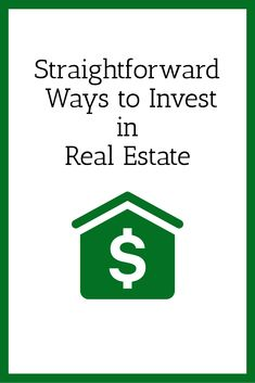 """Real Estate Investing Tips - Three """"Easy"""" Ways to Invest in Real Estate Word Of Advice, Real Estate Tips, Real Estate Investing, Real Estate Marketing, Home Buying, Wise Words, How To Become, Social Media, Group"""