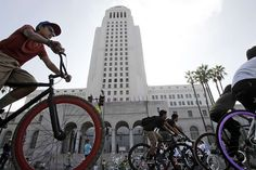 Can car-happy L.A. learn to share the road? Re-imagining the city's streets to accommodate bikes and cars: It's the law, but how will it wor...