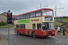 https://flic.kr/p/jqbyV4 | 1116. J854 TSC: TM Travel, Halfway | Seen crossing the tram tracks on the approach to Crystal Peaks Bus Station on Service 252, TM Travel 1116 is a Leyland Olympian with Alexander RH type bodywork, which had been new in 1991 as Lothian Buses 854.