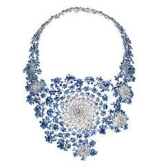 Marc Newson's fractal neecklace. #marc_newson #fractal #necklace #diamonds