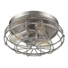 Savoy House Lighting Scout Flush Mount Satin Nickel for sale online Semi Flush Ceiling Lights, Flush Mount Ceiling, Flush Mount Lighting, Showcase Design, Satin, Laundry Room, Evergreen, Free Shipping, Lamps