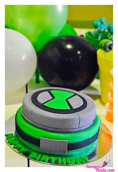 Inspiration for Owen's Ben 10 birthday party cake Ben 10 Birthday, 10th Birthday Parties, Birthday Party Themes, Birthday Ideas, Birthday Cakes, Ben 10 Party, Ben 10 Cake, Festa Party, Party Party