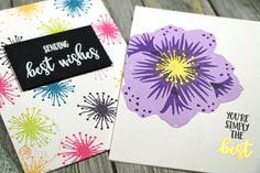 Concord & 9th Pretty Petals Cards   Guest Spot #2