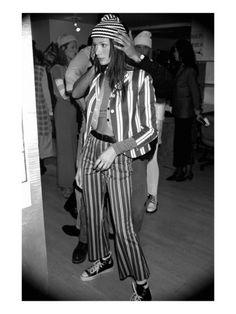 perry ellis -- 1992, marc jacobs backstage