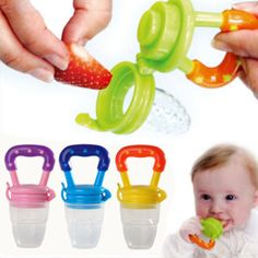 1x-Nipple-Fresh-Food-Fruits-Milk-Nibbler-Feeder-Feeding-Tool-Safe-Baby-Supplies