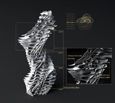 Sections of Algorithimic Tower (parametric design)- by deCode by archi_deCode, via Flickr