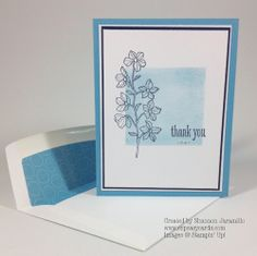 Clean and Simple Saturday - A Peaceful Thank You created by Shannon Jaramillo www.ezpeasycards.com