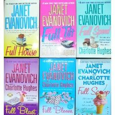 "Love these ""full series"" - by Janet Evanovich & Charlotte Hughes"