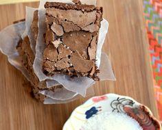 Eat Skinny, Be Skinny: Salted Chocolate Brownies