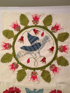Happy Appliquer: Rachel Meyer Revisited and a few more sampler blocks