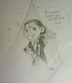 Loki went with Tom on his UNICEF trip. Ehehe!