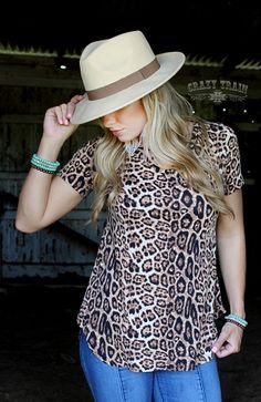 e290d707793 CROSS ROADS *LEOPARD* Boho Outfits, Western Wear, Cheetah, Roads, Custom