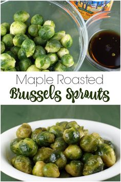 Maple Roasted Brussels Sprouts   5DollarDinners.com