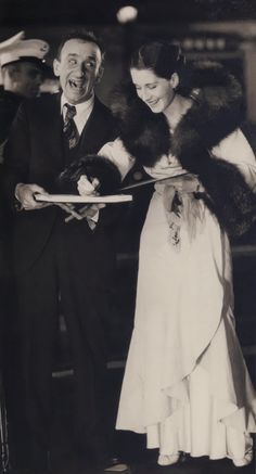 # jimmy durante  # norma shearer  # 1930's