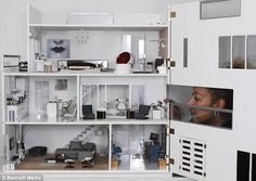 Another Mini Modern Masterpiece: The Clearview Dollhouse