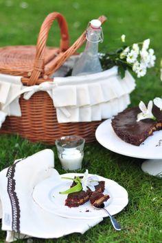 Tarta czekoladowo-pomarańczowa z karmelem | Make Life Easier