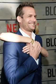 Gabriel and wife #JacindaBarrett attend premiere of #Bloodlines May 2016