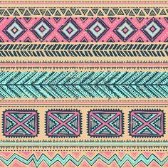 Sin fisuras étnicas vendimia Tribal Foto de archivo - 26024462