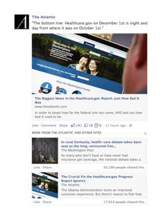 Facebook tweaks algorithm to add more 'news' to news feed.  I like this move.  It adds benefits for facebook users, without drawing too far from facebook's mission.