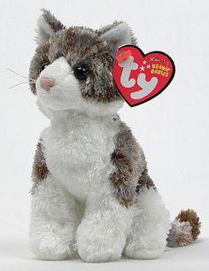 ffce2a4d710 Bently - cat - Ty Beanie Babies Beanie Buddies