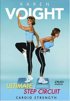 Karen Voight: Ultimate Step Circuit DVD ~ Karen Voight, http://www.amazon.com/dp/B00067HP0A/ref=cm_sw_r_pi_dp_hN5Yrb0WKKCQV