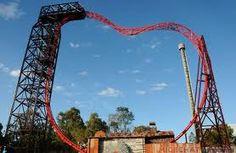 The Buzzsaw @ Dreamworld, Gold Coast, Australia.. Did it a few times. Bloody brilliant...