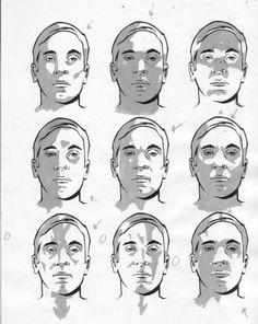 Расположение теней на лице человека в зависимости от местонахождения источника света.... фото #2