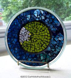 Stained Glass Mosaic Sun Catcher Mosaic by earthmothermosaics