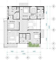 Project Villa In Dong Nai Province On Behance In 2020 Villa Province Floor Plans