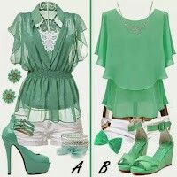 Love this green.
