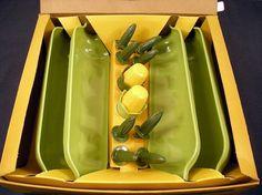 Vintage Corn Servers Set - I want this specific set.  I love it!