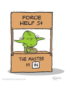 Yoda Charlie Brown