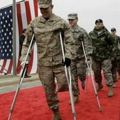"I was reading about how ""45% of the 1.6 million veterans from the wars in Iraq and Afghanistan are seeking disability benefits from injuries"" they had acquired while serving. This could be detrimental to the economy of our nation. These men and women, though, do in fact deserve to get full benefits."