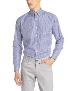 THEORY Theory Men'S Sylvain Amicable Long-Sleeve Gingham Button-Down Shirt. #theory #cloth #