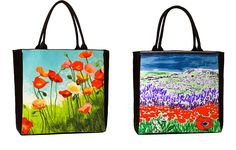 #SweetGreens    Sweet Greens | Your Earth Friendly Guide to all Things Green and Eco Friendly  #5 Eco Art Handbag $80