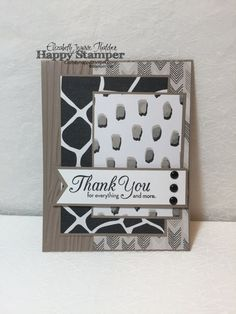 Go Wild, One Big Meaning, Stampin Up