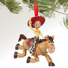 $10.50 or 2 for 16 Jessie and Bullseye Sketchbook Ornament | Ornaments | Disney Store