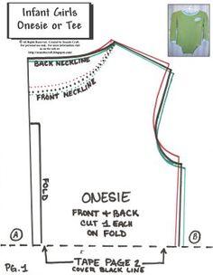 Onesie pattern.