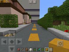 Minecraft McDonald's Part 3 Minecraft Castle, Home Crafts, Castles, Sidewalk, Gaming, Houses, Journal, Homes, Videogames