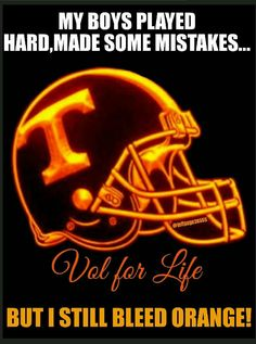Vol for life Tn Vols Football, Tennessee Volunteers Football, Tennessee Football, University Of Tennessee, Football And Basketball, Football Season, College Football, Vol Nation, Tennessee Girls