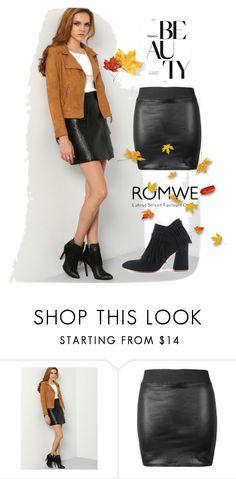 """4# Romwe"" by almamehmedovic-79 ❤ liked on Polyvore"